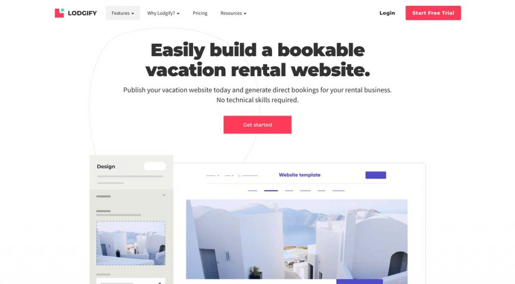 Lodgify Website Builder