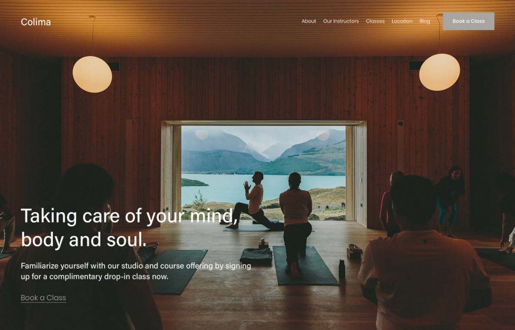 Colima - Squarespace Vacation Rental Template