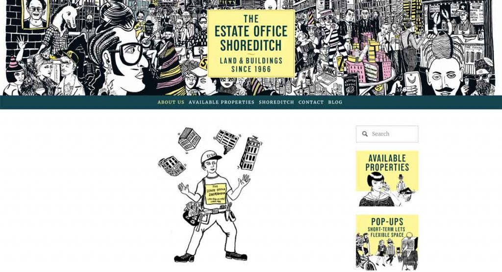 The Estate Office Shoreditch - Squarespace Real Estate Website