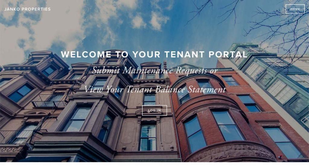 Janko Properties - Squarespace website