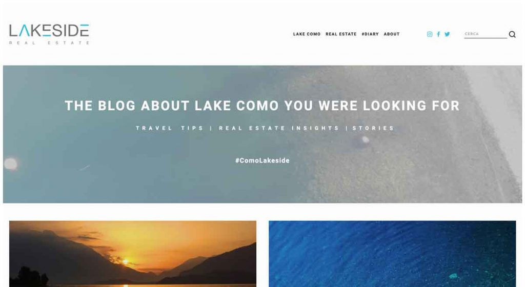Lakeside - Squarespace Real Estate Website