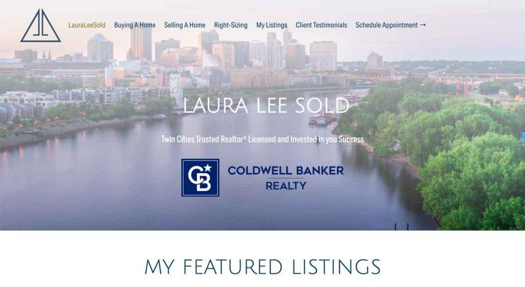 Laura Lee Sold - Squarespace Real Estate Website