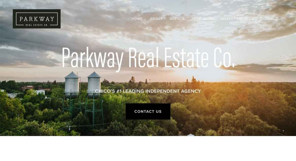 Parkway - Squarespace Real Estate Website