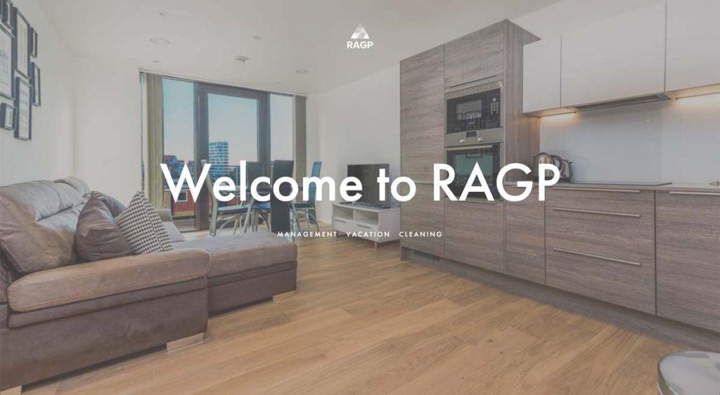 RAGP Property Management - Squarespace website