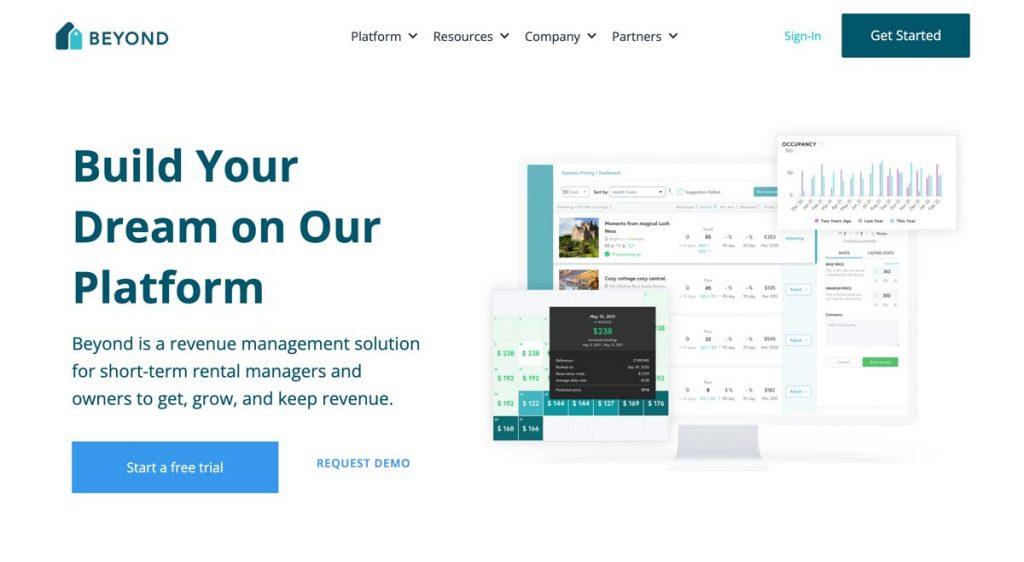 Beyond Pricing website